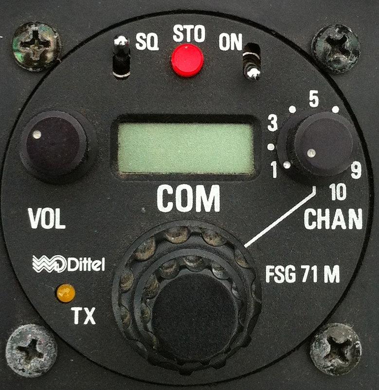 Funkgerät zur Kommunikation mit den anderen